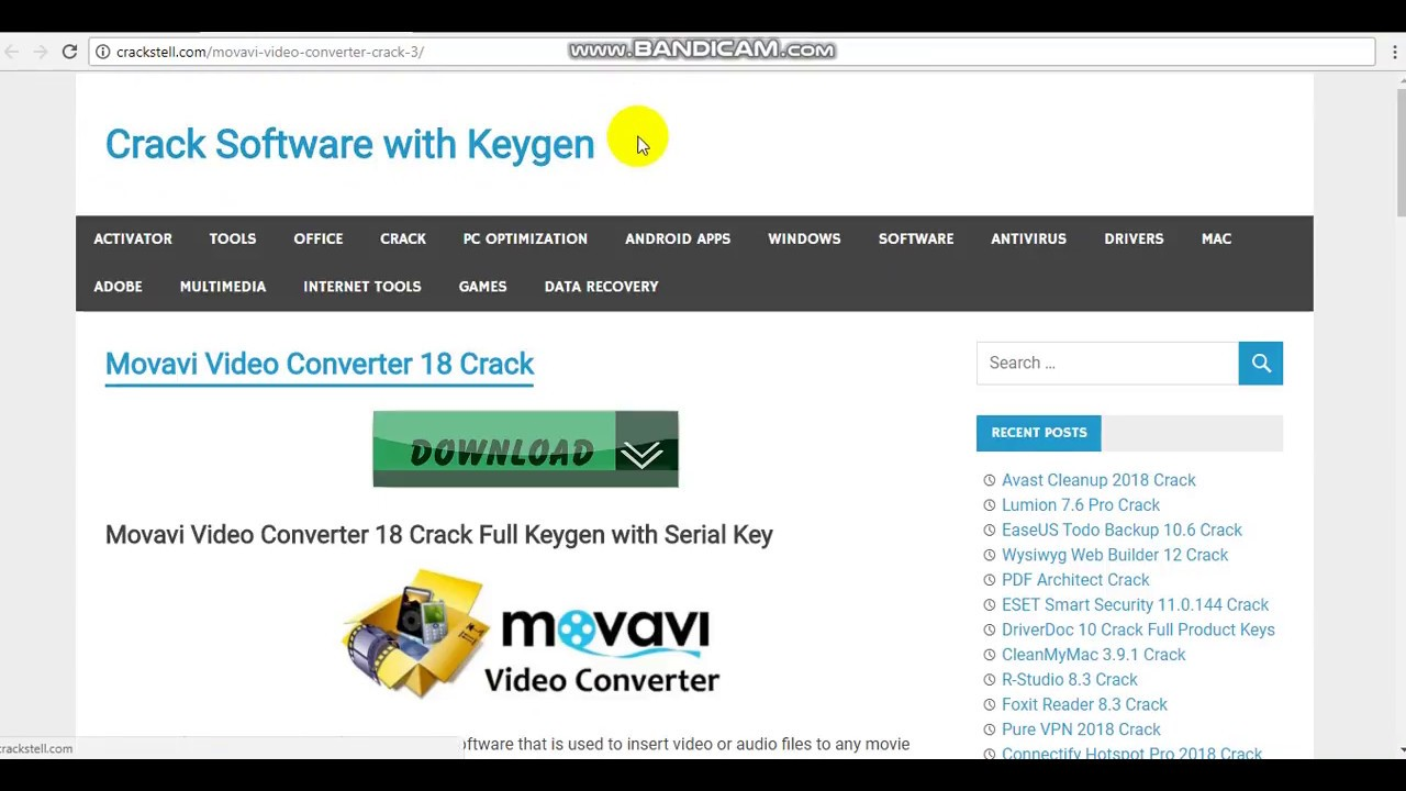Movavi Video Converter 20.2.1 Crack + Activation Key 2020 Full Latest